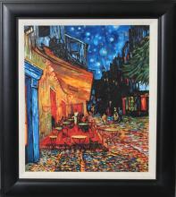 Terrace Cafe After Vincent Van Gogh