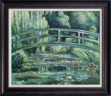 Claude Monet Japanese Bridge limited edition canvas