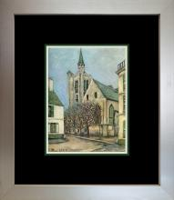 Maurice Utrillo Color Plate 1957 Lithograph