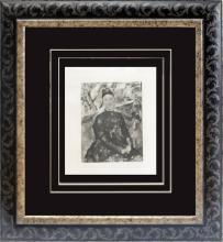 Pierre Renoir etching