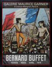 Bernard Buffet Lithograph Poster