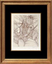 Guillaume Azoulay Original Etching