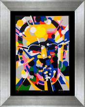 Waldemar Swierzy Original Lithograph Limited Edition Benny Goodman