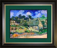 Vincent Van Gogh Hand Embellished Canvas