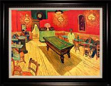 After Van Gogh Limited Edition Embellished Giclee Rec Room