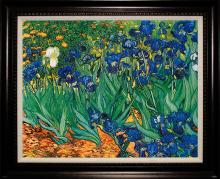 After Van Gogh The Irises Limited Edition Giclee