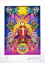Alan Aldridge-Limited Edition One of a kind Iron Man