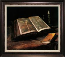 After Van Gogh-Limited Edition-Still Life with Bible