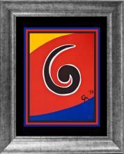 Alexander Calder Original Lithograph Apostrophe