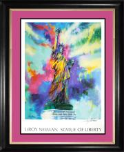 Le Roy Neiman Hand Signed Lithograph Statue of Liberty