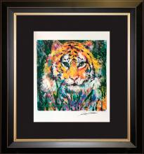 Le Roy Neiman Tiger Lithograph Hand signed