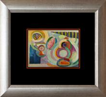 Robert DeLaunay Color Plate Lithograph from 1957