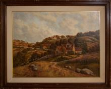 Vintage Original Oil on canvas