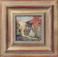 Hand Signed Original Plein Air Oil on canvas by Rafael