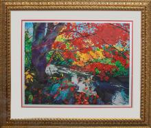Laurie Bender-Limited Edition Giclee Red Leaves