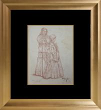 Original Drawing from 1930s by Zakheim