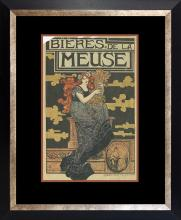 Original lithographic poster vintage 1920s
