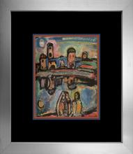 Georges Rouault Color Plate 1957 Lithograph