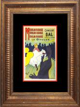 Toulouse Lautrec Moulin Rouge Lithograph from 1957