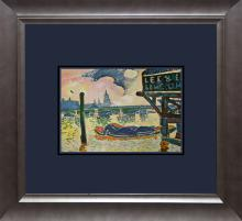 Andre Derain Color Plate Lithograph from 1957