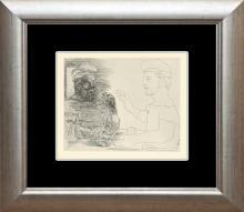 Pablo Picasso lithograph from 1957