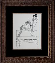 Al Hirschfeld Original Lithograph