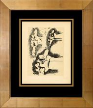 Pablo Picasso 90 year old lithograph Antique