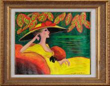 Original Oil on canvas by Leveils