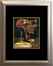 Salvador Dali Soft Self Portrait Lithograph