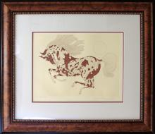 Signed Original Guillaume Azoulay Etching