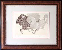 Signed Original Etching by Guillaume Azoulay