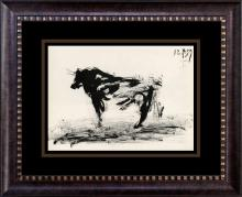 Pablo Picasso Bullfight Lithograph from 1960  Toros y Toros