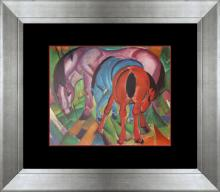 Franz Marc original Color Plate lithoraph over 55 years ago