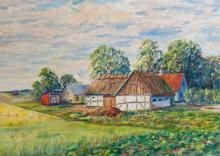 Original Oil on canvas by Samuels