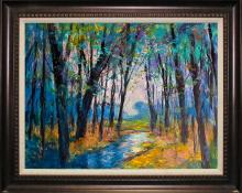 Original Oil Landscape Michael Schofield