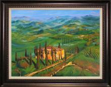Arina Original Oil-Verdant Countryside