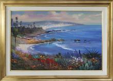 Rafael Original Oil on canvas Plein Air Large