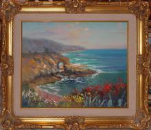 Original Oil on Canvas plein air signed by Rafael
