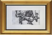 Lucien Freud Etching 1970