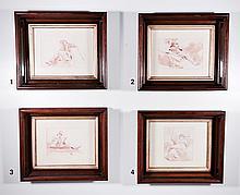 Giovanni Domenico TIEPOLO (1727-1804) — Four Pieces