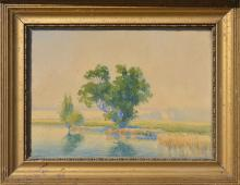 Continental School of painting - early XX century