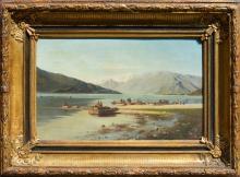 European oil panting - XIX century - unsigned