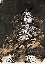 Claude WEISBUCH (1927-2014). Portrait au béret. Lithographie signée, numéro
