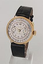LONGINES chronograph extra size, around 1932.