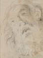 Giovanni LANFRANCO, entourage de - Tête d'homme barbu...