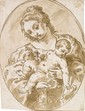 Antonio BALESTRA, attribué à - Vierge à l'enfant tenant...