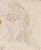 Francesco CURIA - La Vierge agenouillée