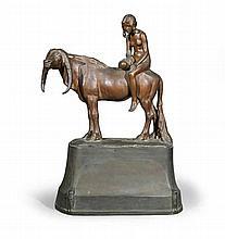 Hermann HAASE (1879-1960).    Giovane amazzone.