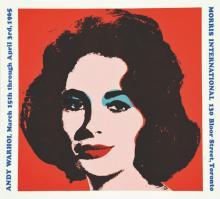 Elisabeth Taylor - Andy Warholl - Morris International 1965