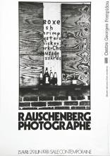 Rauschenberg Photographie 1981 - Centre Georges Pompidou 1981